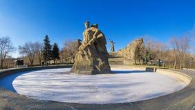 Kurgan Mamayev Royalty-vrije Stock Foto