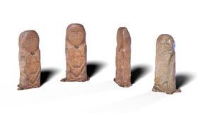 Kurgan Stelae Σε τέσσερις θέσεις απεικόνιση αποθεμάτων
