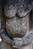 kurgan stelaesten för anthropomorphic detalj arkivbild