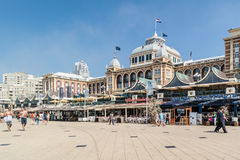 Kurhaus και περίπατος του Scheveningen, Χάγη, Κάτω Χώρες Στοκ φωτογραφία με δικαίωμα ελεύθερης χρήσης