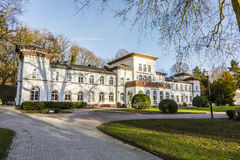 Kurhaus με το φυσικό πάρκο σε κακό Soden Στοκ φωτογραφία με δικαίωμα ελεύθερης χρήσης