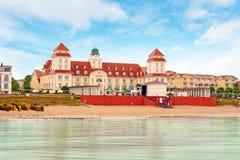 Kurhaus σε Binz, Insel RÃ ¼ GEN Στοκ φωτογραφίες με δικαίωμα ελεύθερης χρήσης