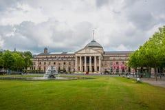 Kurhaus i teatr w Wiesbaden, Niemcy zdjęcia royalty free