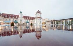 Kurhaus legendario Binz, isla de Ruegen Fotos de archivo