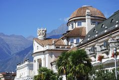 Kurhaus in Meran Royalty Free Stock Photos