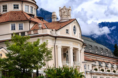 The Kurhaus in Merano, Italy. Masterpiece of Jugendstils- the Kurhaus in Merano, Italy royalty free stock photo