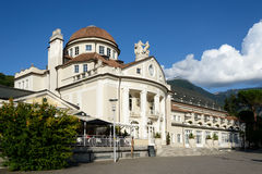 The Kurhaus in Merano - Meran. The Kurhaus is a landmark in Merano - Meran, South Tyrol, Italy Stock Images