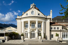The Kurhaus in Merano - Meran. The Kurhaus is a landmark in Merano - Meran, South Tyrol, Italy Stock Photo