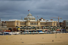 Kurhaus of Scheveningen Royalty Free Stock Photography