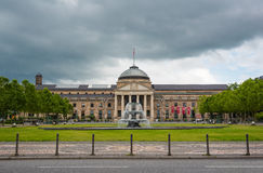 Kurhaus and Theater in Wiesbaden, Germany Royalty Free Stock Image