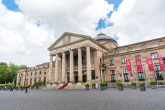 Kurhaus and Theater in Wiesbaden, Germany Stock Photos
