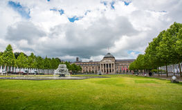 Kurhaus and Theater in Wiesbaden, Germany Royalty Free Stock Photo