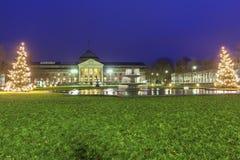 Kurhaus Wiesbaden w Niemcy fotografia stock