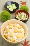 Kuri-gohan Stock Images