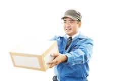 Kurier usługa Obrazy Stock