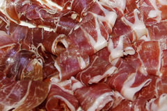 Kurierter Schweinefleisch-Schinken Lizenzfreie Stockfotos