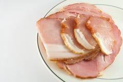 Kuriertes Fleisch Stockfotografie