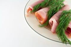 Kuriertes Fleisch Lizenzfreie Stockbilder