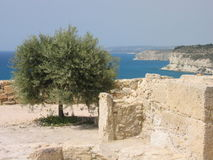 Kurion - Cyprus Royalty Free Stock Photos