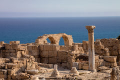 Kurion, important ancient archaeological monument in Cyprus Royalty Free Stock Photos