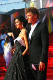 Kurkova and Bachurin at Moscow Film Festival Royalty Free Stock Photography