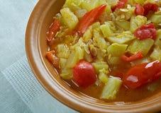 Kurma végétal mélangé Photos stock