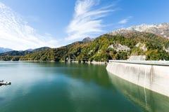 Kurobe水坝 免版税库存照片