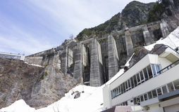 Kurobe Dam Royalty Free Stock Image