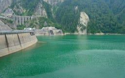 Kurobe dam in Toyama, Japan Stock Image