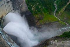 Kurobe dam in Toyama, Japan Stock Photos