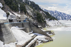 Kurobe Dam Royalty Free Stock Photography