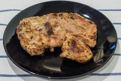 Kurobuta Pork Steak Royalty Free Stock Photos