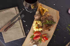 Kurobuta steak Royalty Free Stock Images