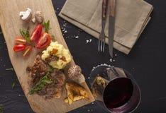 Kurobuta steak Royalty Free Stock Image