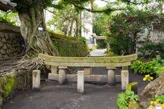 Kurojin похоронило torii стоковые изображения rf