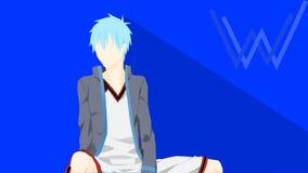 Kuroko-Anime Lizenzfreie Stockfotos