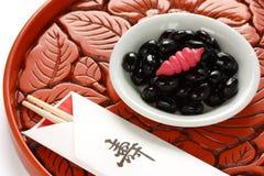 Kuromame, japanese food Stock Image