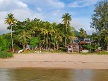 Kurort blisko Phuket bechu przy Phuket obraz royalty free