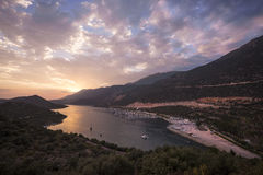 Kurort Kasa, Turcja zdjęcie royalty free
