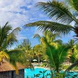 kurort Mauritius Zdjęcia Stock