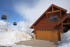 kurort na nartach w domu Obrazy Royalty Free