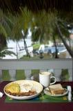 kurort na śniadanie Obraz Stock