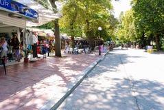 Kurort Nadmorski Albena, Bułgaria zdjęcia stock