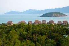 Kurort nadmorski, bungalow, Nha Trang, Wietnam Zdjęcia Stock
