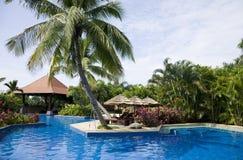 kurort tropikalny Fotografia Royalty Free