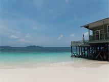 kurort tropikalny Zdjęcia Royalty Free