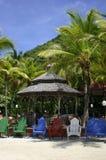 kurort tropikalny Obraz Royalty Free