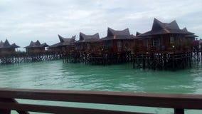 Kurort w Pulau Mabul Fotografia Royalty Free