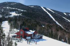 kurortu shugarbush narty wakacje Vermont Obraz Royalty Free