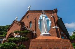 Kurosaki kościół, Nagasaki Japonia Zdjęcia Stock